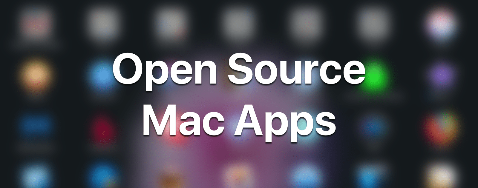 Github Has A Huge List Of Open Source Mac Apps The Mac
