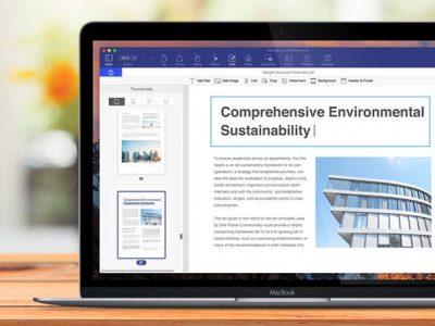 PDFelement 6 on MacBook