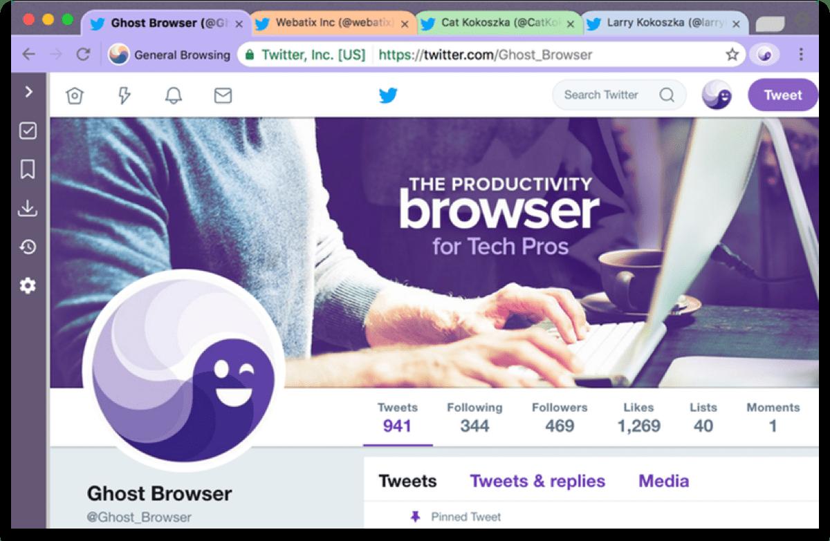 Sandbox Facebook with Ghost Browser.