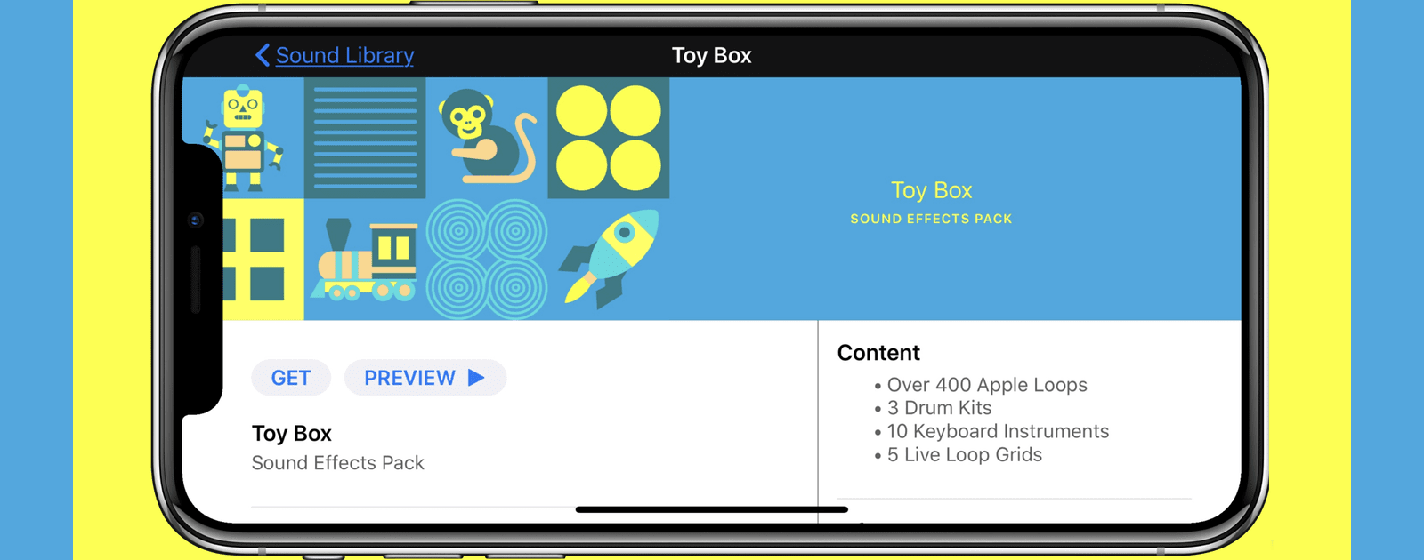 iOS: How to Download the New Toy Box Sound Pack in