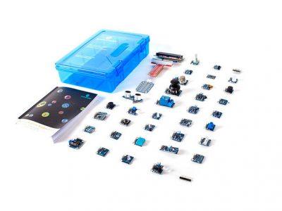 37 Sensors Starter Kit for Raspberry Pi (Pi 3B Included)