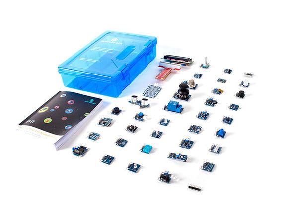 37 Sensors Starter Kit for Raspberry Pi (Pi 3B Included): $129.99