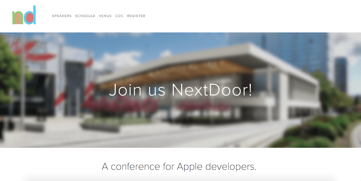 Alternative wwdc conferences youll want to know about the mac cocoaconf next door features sessions from popular ios and mac developers at the hilton hotel speakers this year include brent simmons james dempsey fandeluxe Images
