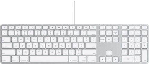 matias wired aluminum keyboard is full size backlit and gorgeous the mac observer. Black Bedroom Furniture Sets. Home Design Ideas