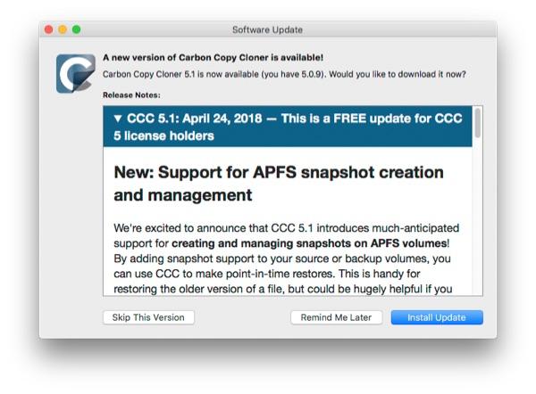 CCC 5.1 notice