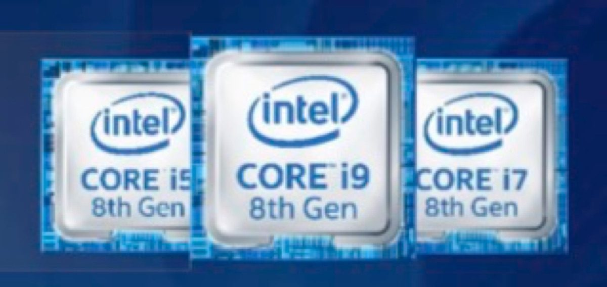 Intel 8th gen Core.