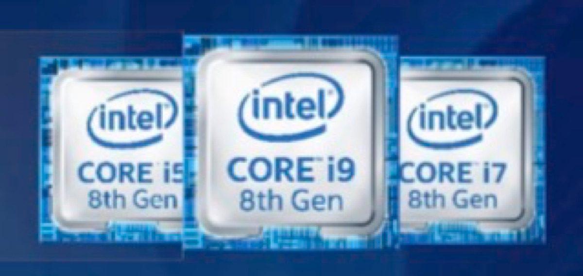 Intel 8th gen Core.