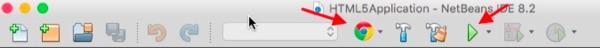 Part of the NetBeans IDE menu bar.
