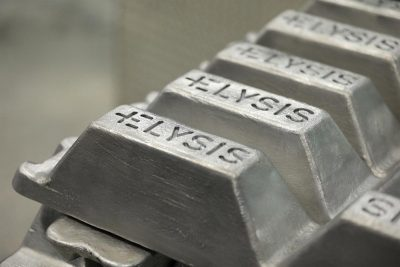 Elysis Aluminum Ingots (Credit: Apple)
