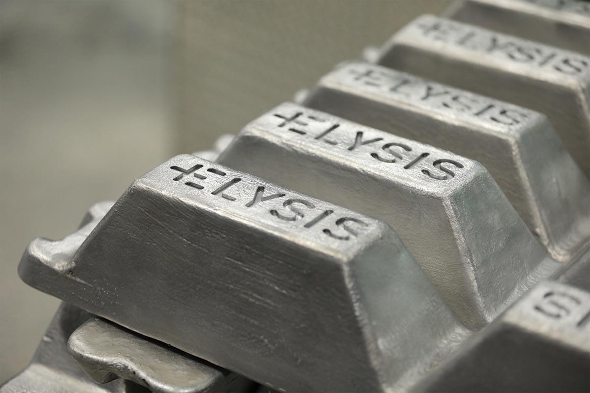 Elysis Aluminum Ingots (Credit: Apple)