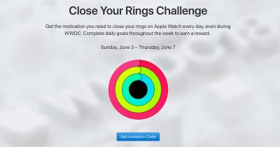 Apple's Close Your Ring Challenge