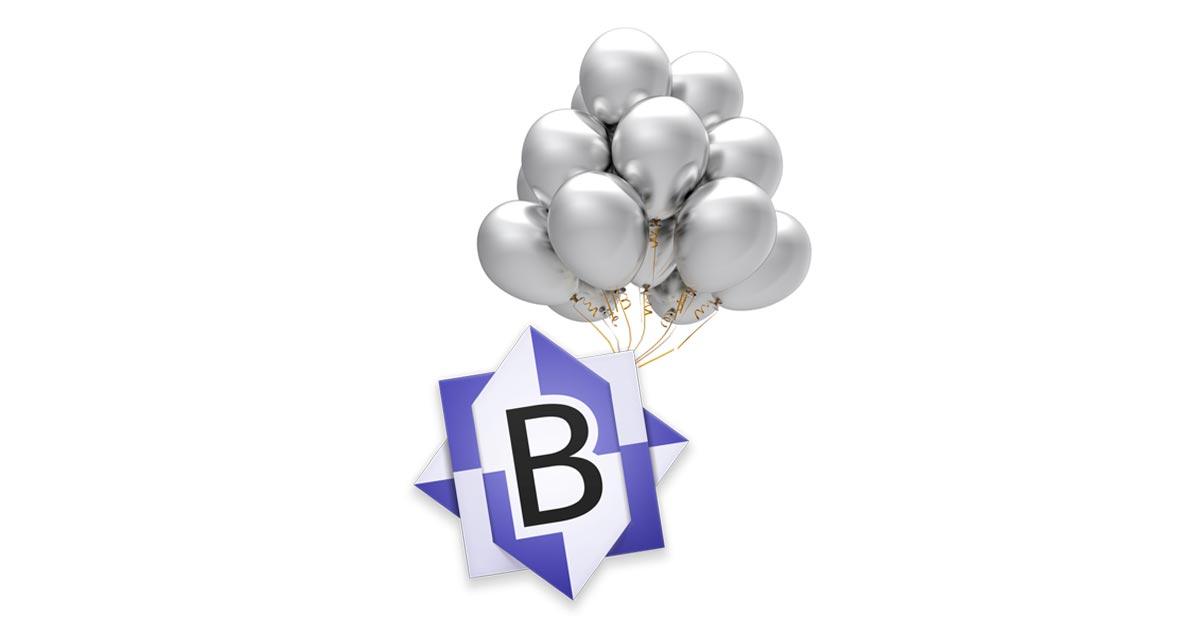 BBEdit 25th Anniversary
