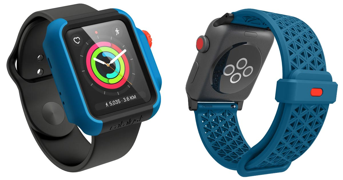 competitive price d695c 41a40 Catalyst Launches Drop Case for Apple Watch, Plus Sports Band - The ...