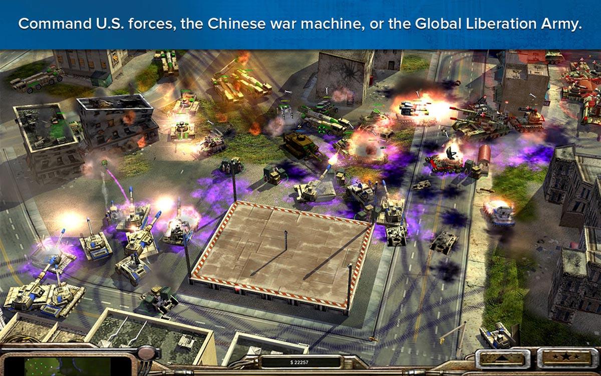 Command & Conquers: Generals Deluxe Edition screenshot