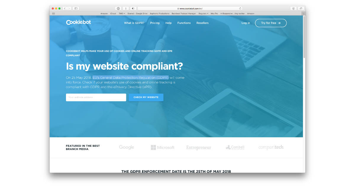 Here's an Easy Way to Check Website Cookies for GDPR Compliance