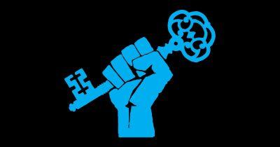 EFF Fist Holding a Key