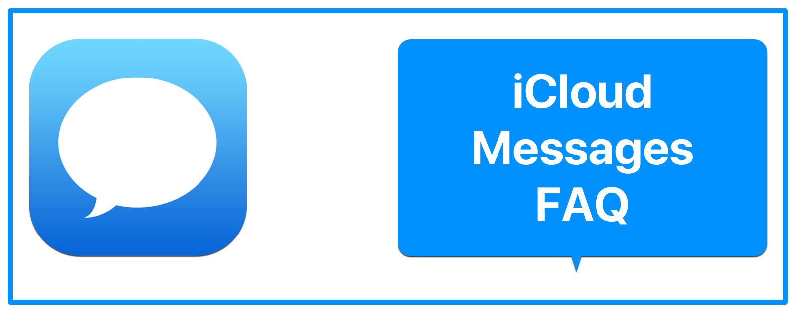 iCloud Messages FAQ: Here's What You Need to Know - The Mac