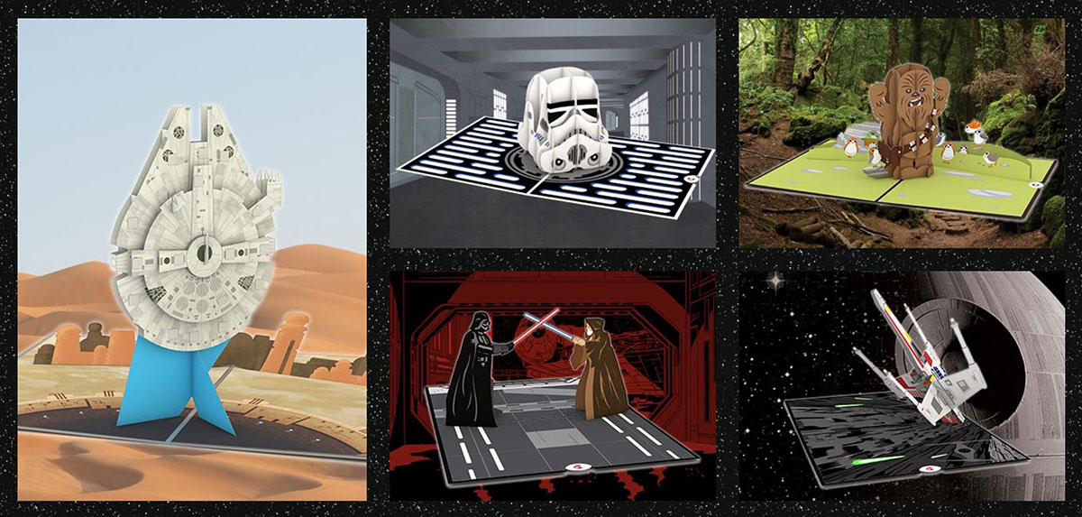 Lovepop Has Star Wars Pop Up Greeting Cards, and They're Way Cool
