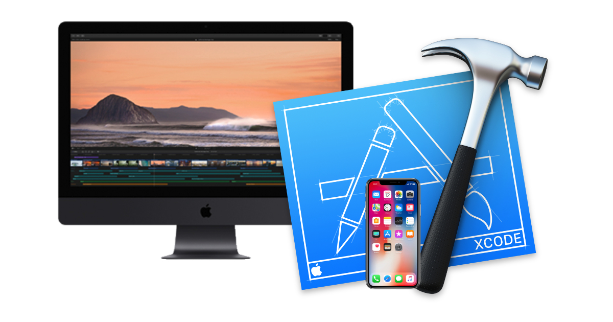 iMac Pro, iPhone X, and Xcode