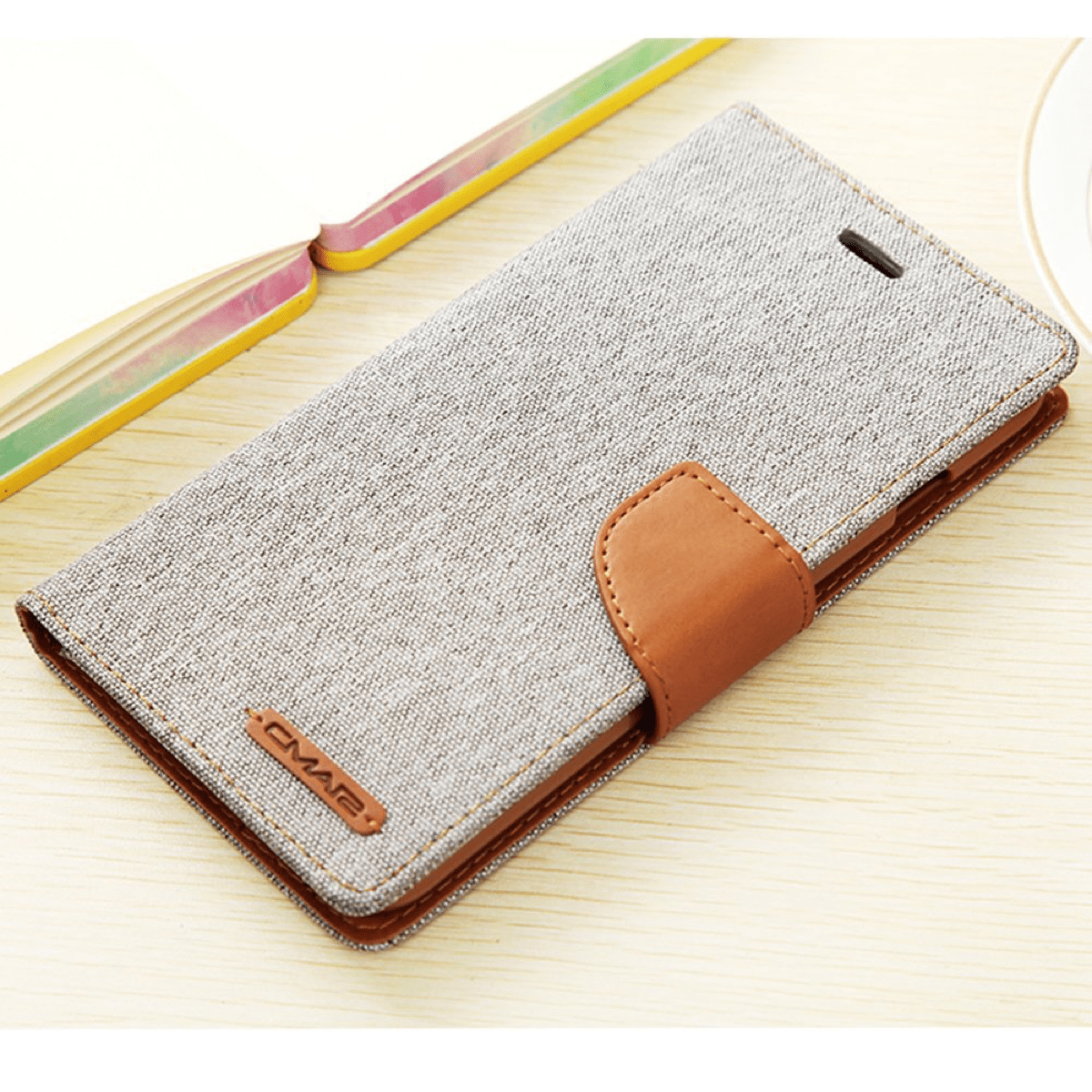 The Aroko canvas wallet case in our list of Mother's Day iPhone cases.