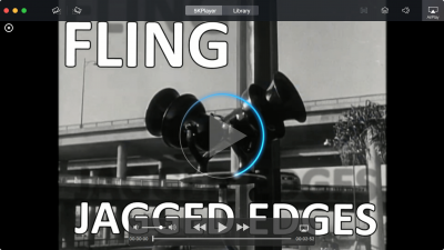 5kplayer playing FLING's Jagged Edges Music Video