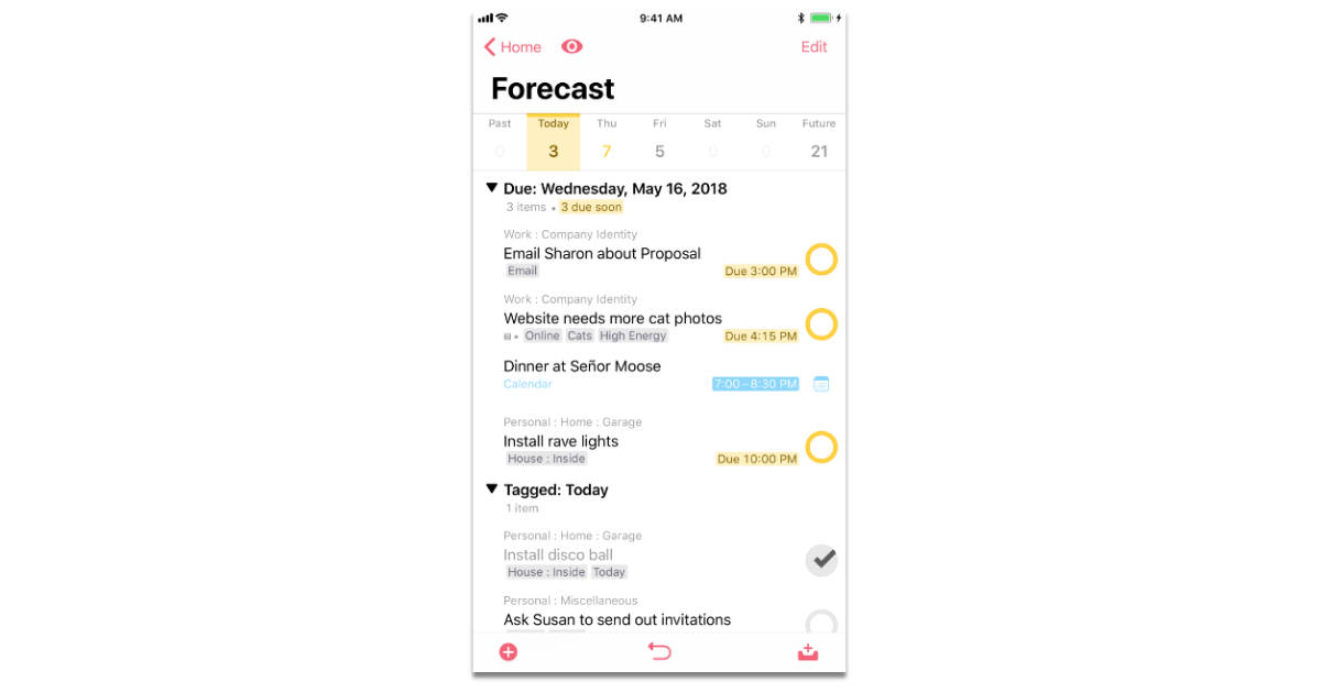 OmniFocus 3 for iOS Adds Batch Editing, Improved Repeating Tasks, More