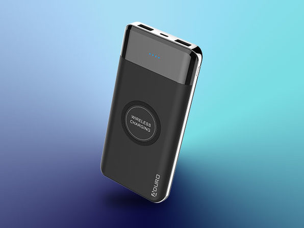 Qi-Compatible Wireless Portable Charger with 10,000mAh Battery: $24.99