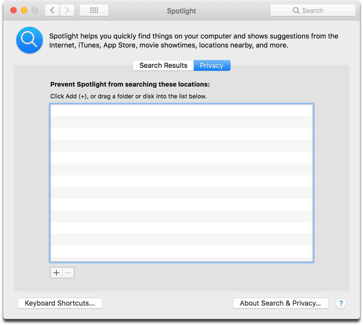 Stop Spotlight indexing by going into System Preferences as shown in this image.