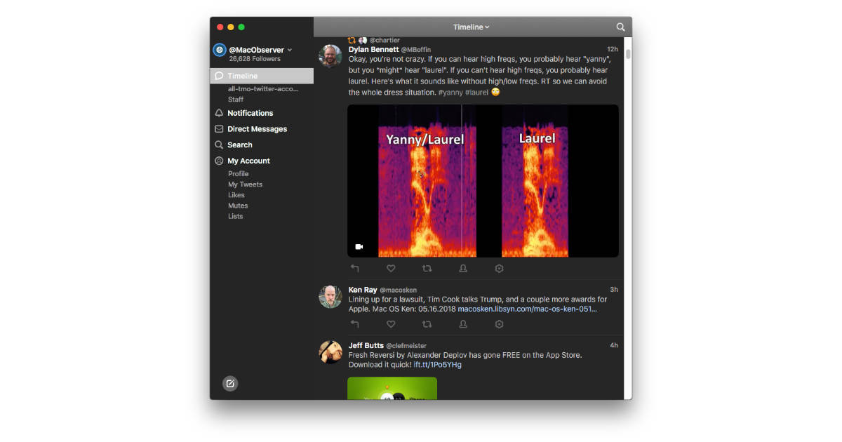 Tweetbot 3 for the Mac Launches with Dark Mode, More