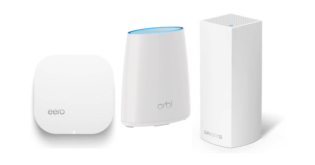 Wi-Fi mesh routers