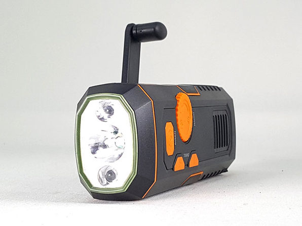 1TAC Safety Charge with Radio, Flashlight, Charger, and Siren: $44.99