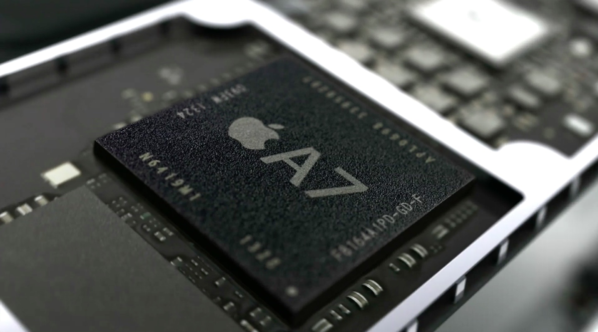 Image of A-series chips A7.