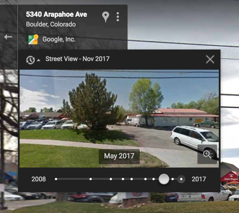 Pips in Archive for Google Maps Street View