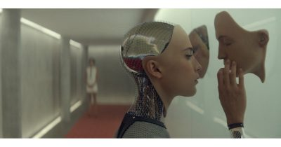 Alicia Vikander as the Andoid/AI in Ex Machina.