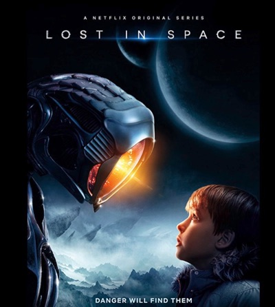 Lost in Space, Netflix, Alien robot. AI Technology.
