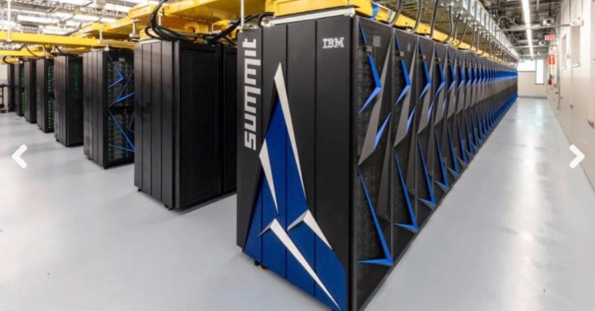 Fastest Supercomputer on Earth Now at Oak Ridge National Laboratory