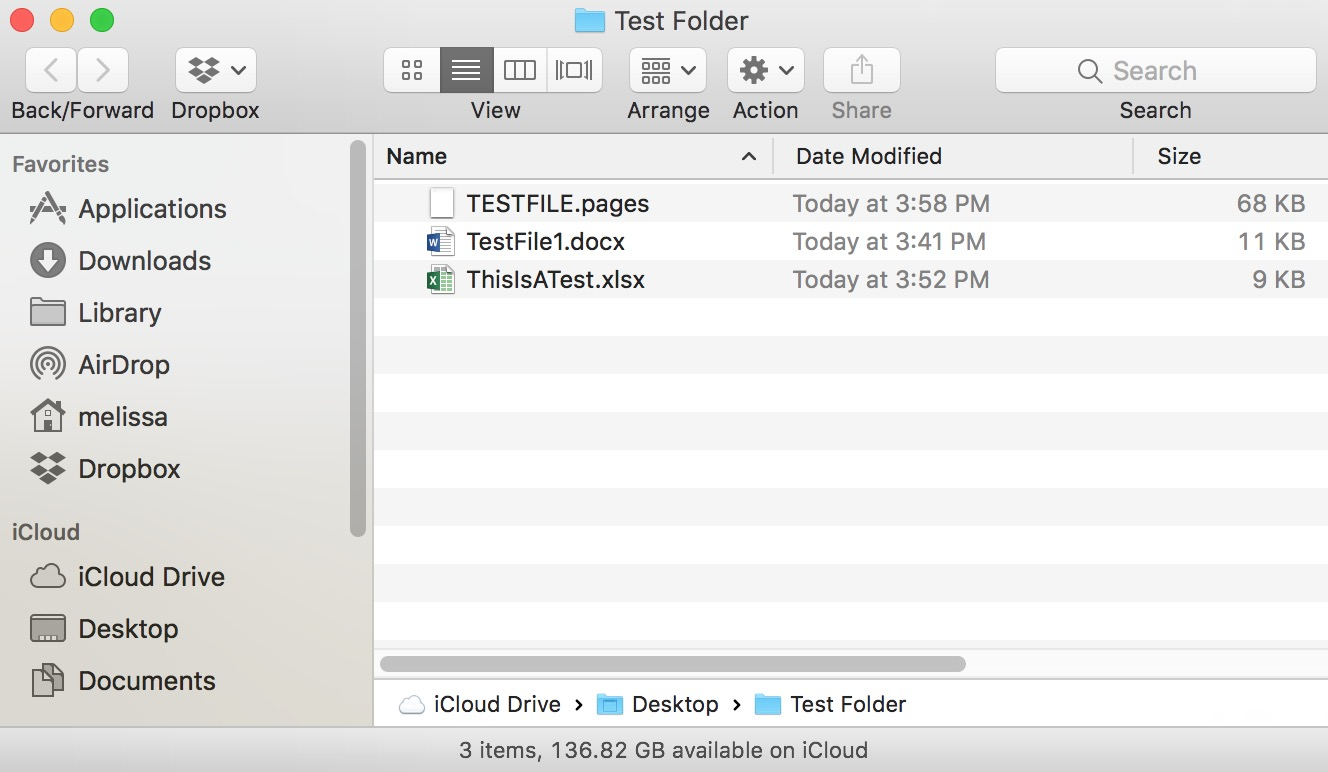 Combined Result of Merge Command for folders on the Mac