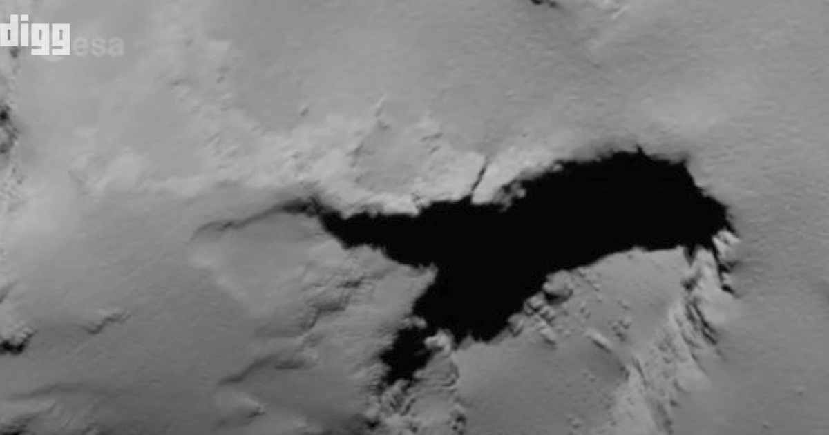 Ride Along With a Space Probe As it Crashes Into a Comet