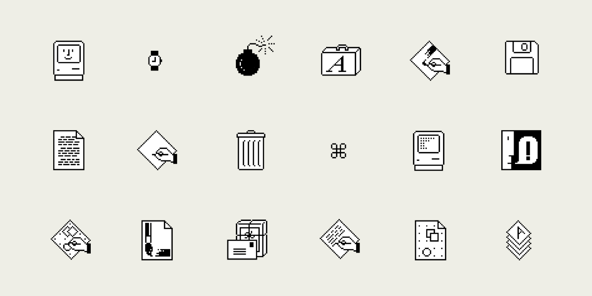 The Story Behind Susan Kare's Icon Designs
