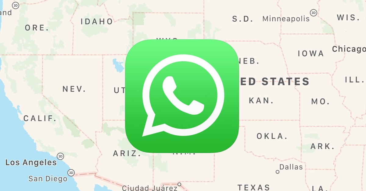 How to Share Your Location in WhatsApp - The Mac Observer
