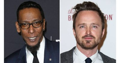 Aaron Paul and Ron Cephas in