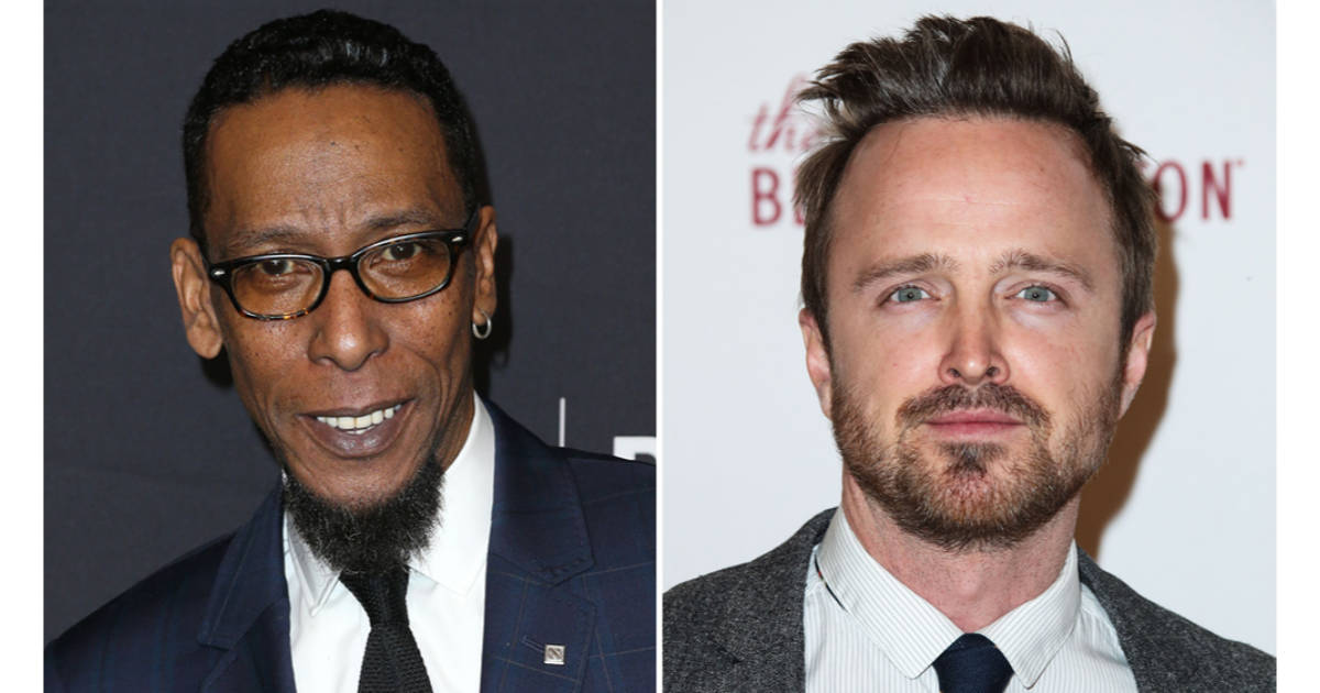 "Aaron Paul and Ron Cephas in ""Are You Sleeping?"""