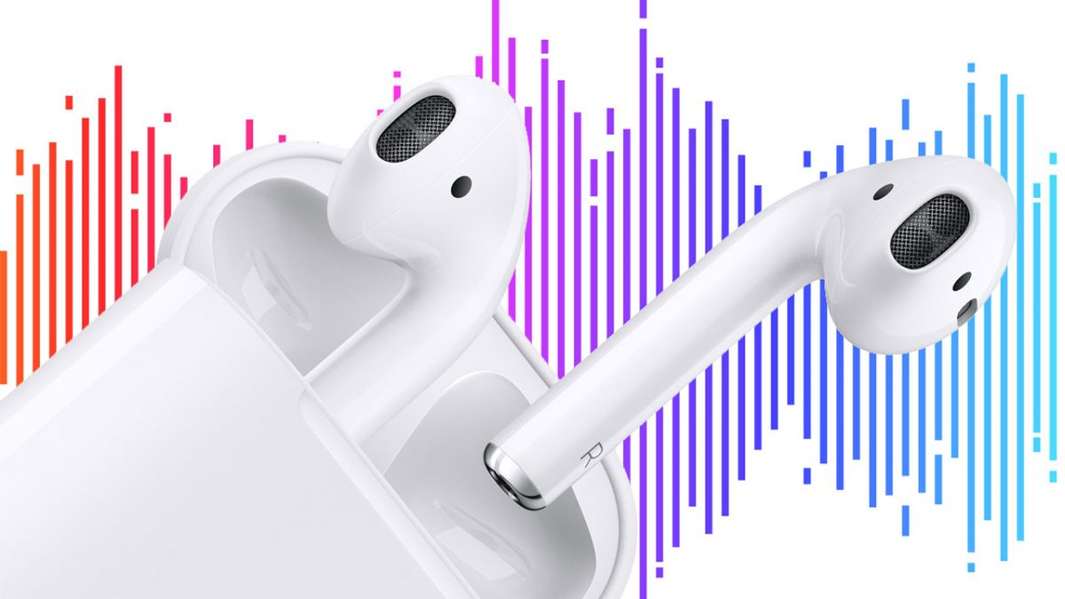 airpods audio wave