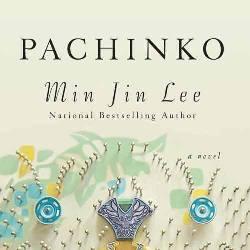 Image of Pachinko book in our Apple TV guide.