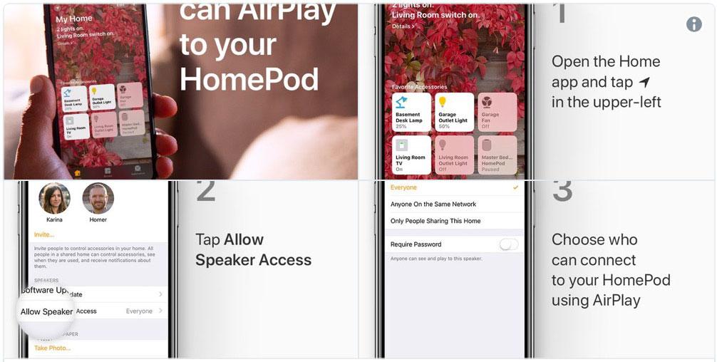 Apple Tweet on HomePod
