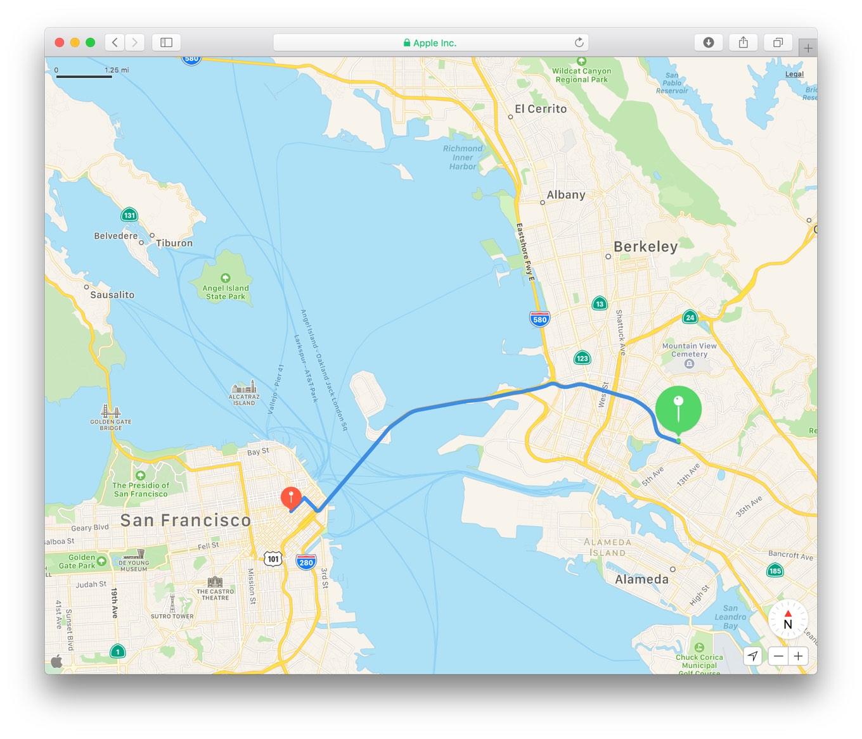 apple mapkit js