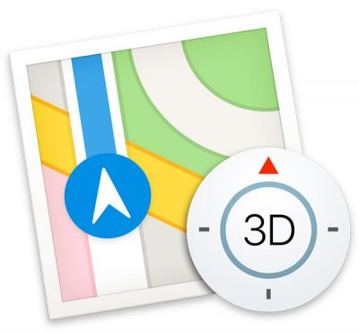 apple maps icon