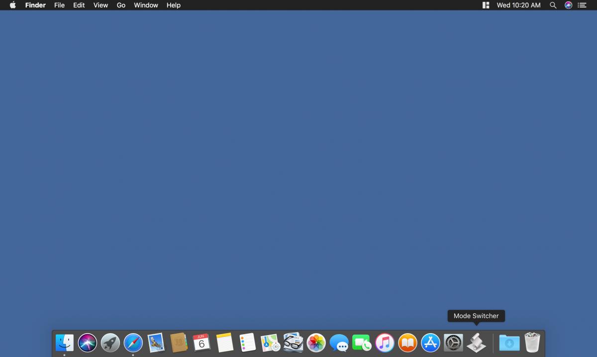 mac light dark mode switcher app