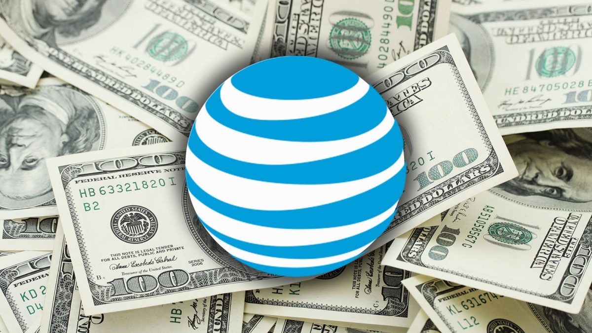 at&t iphone money