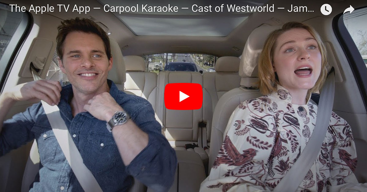 Carpool Karaoke goes to Westworld